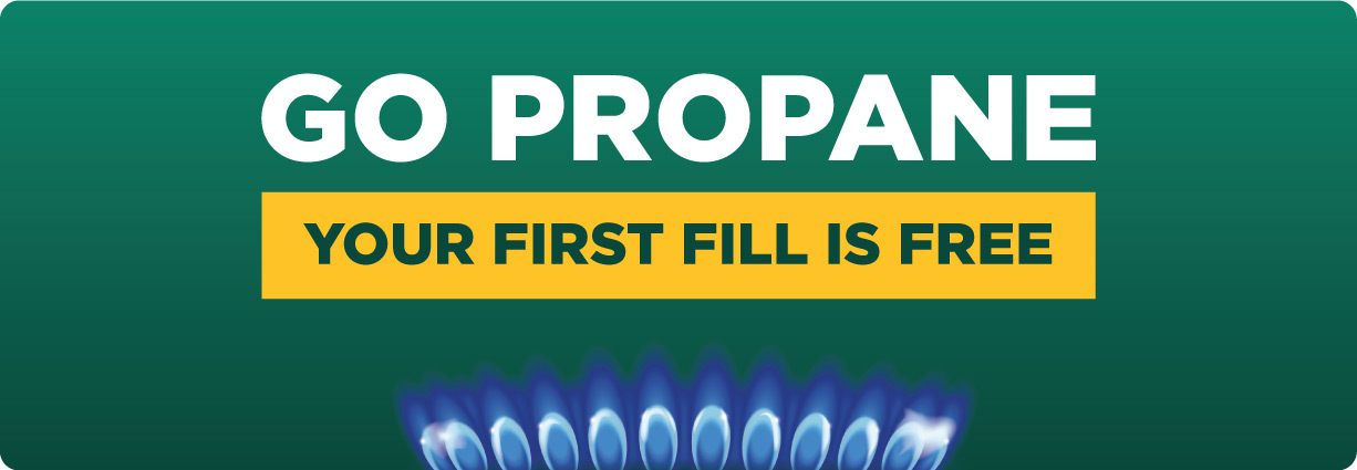 Go Propane - Your first fill is free