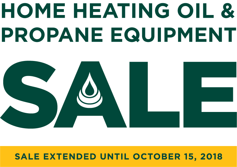 Home Heating Oil Equipment Sale - May 15 tp September 15, 2018